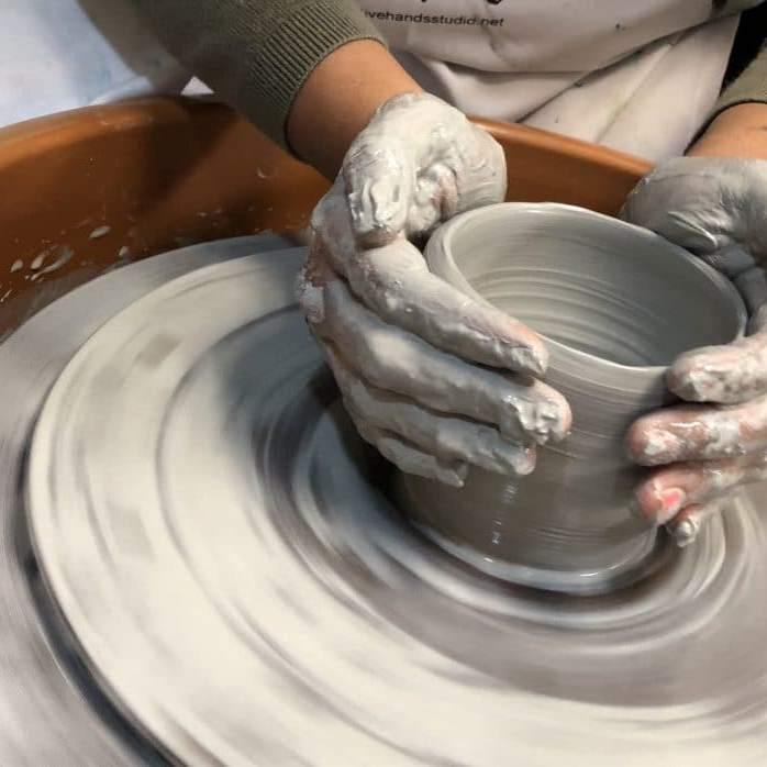 Adult Pottery Class Archives Creative Hands Art School